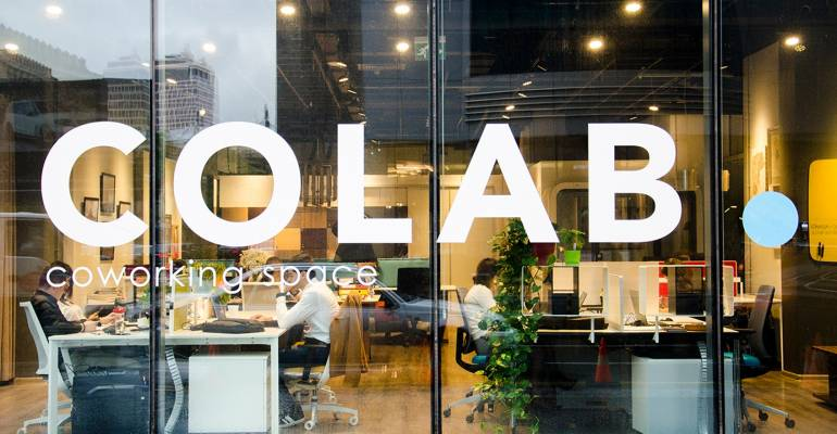 COLAB. – coworking space that will help to restart your business